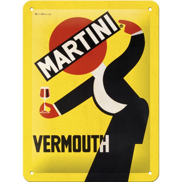 Bilde av Martini Vermouth Waiter Yellow