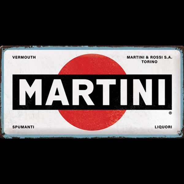 Bilde av Martini Logo White