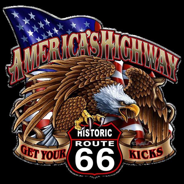 Bilde av America's Highway Route 66 Eagle