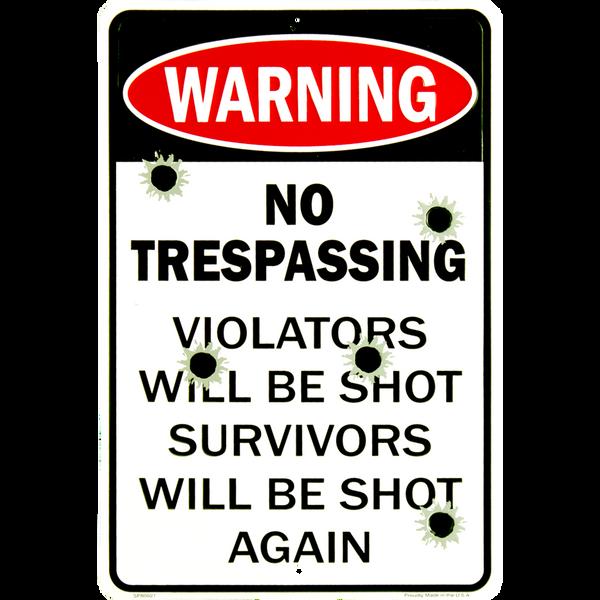 Bilde av No Trespassing