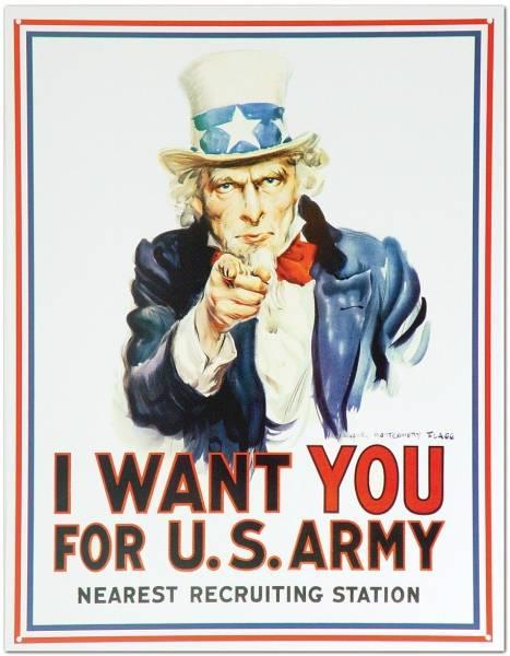 Bilde av Uncle Sam I Want You