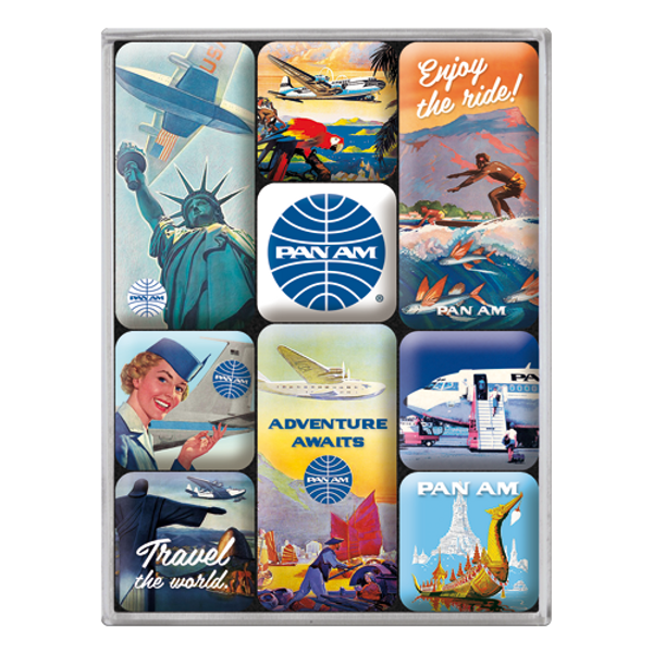 Pan Am Travel The World Posters