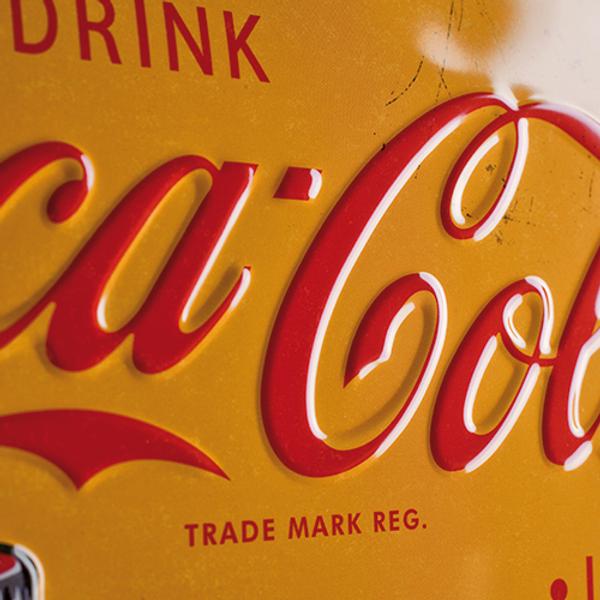 Coca-Cola In Bottles Yellow