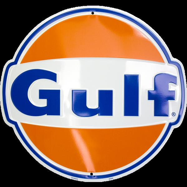 Bilde av Gulf Logo Diecut Small
