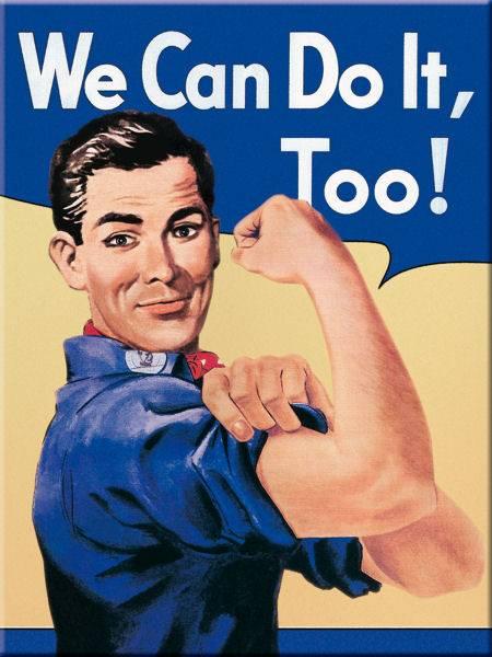 Bilde av We Can Do It Too