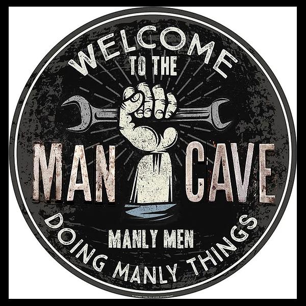 Bilde av Welcome to the Mancave Button