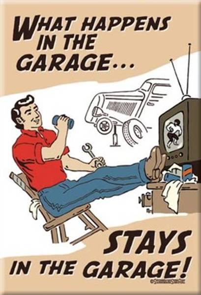 Bilde av What Happens In The Garage