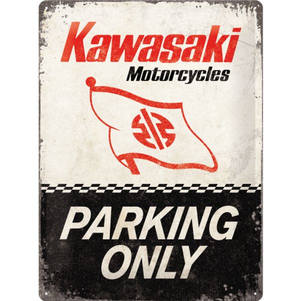 Bilde av Kawasaki Parking Only