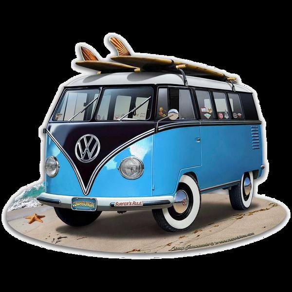 Bilde av Volkswagen Bus Blue