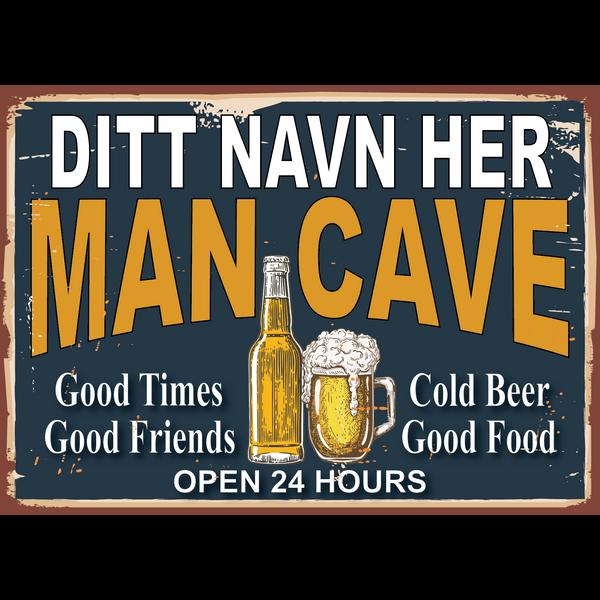 Bilde av Man Cave - Personlig