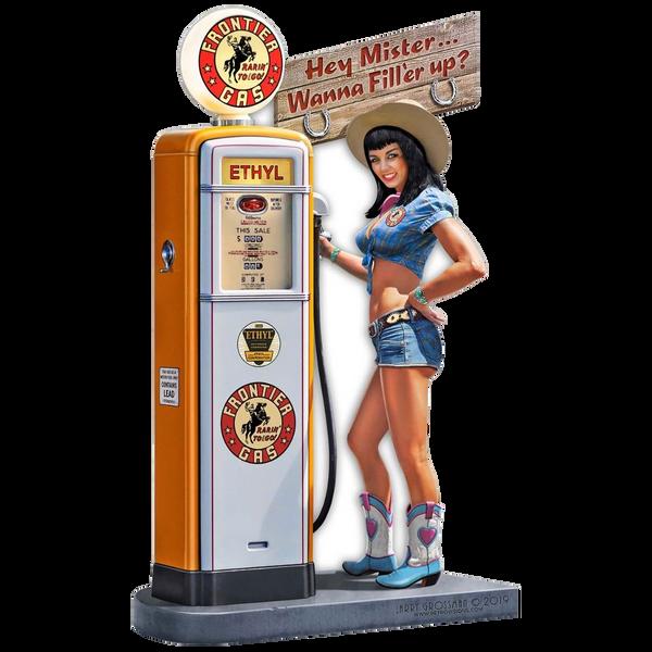 Bilde av Frontier Gas Pump Girl