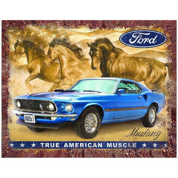 Bilde av Mustang Flag